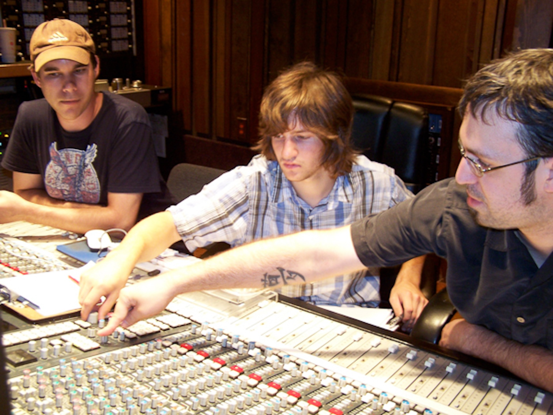 The Programs - Omega Recording Studios