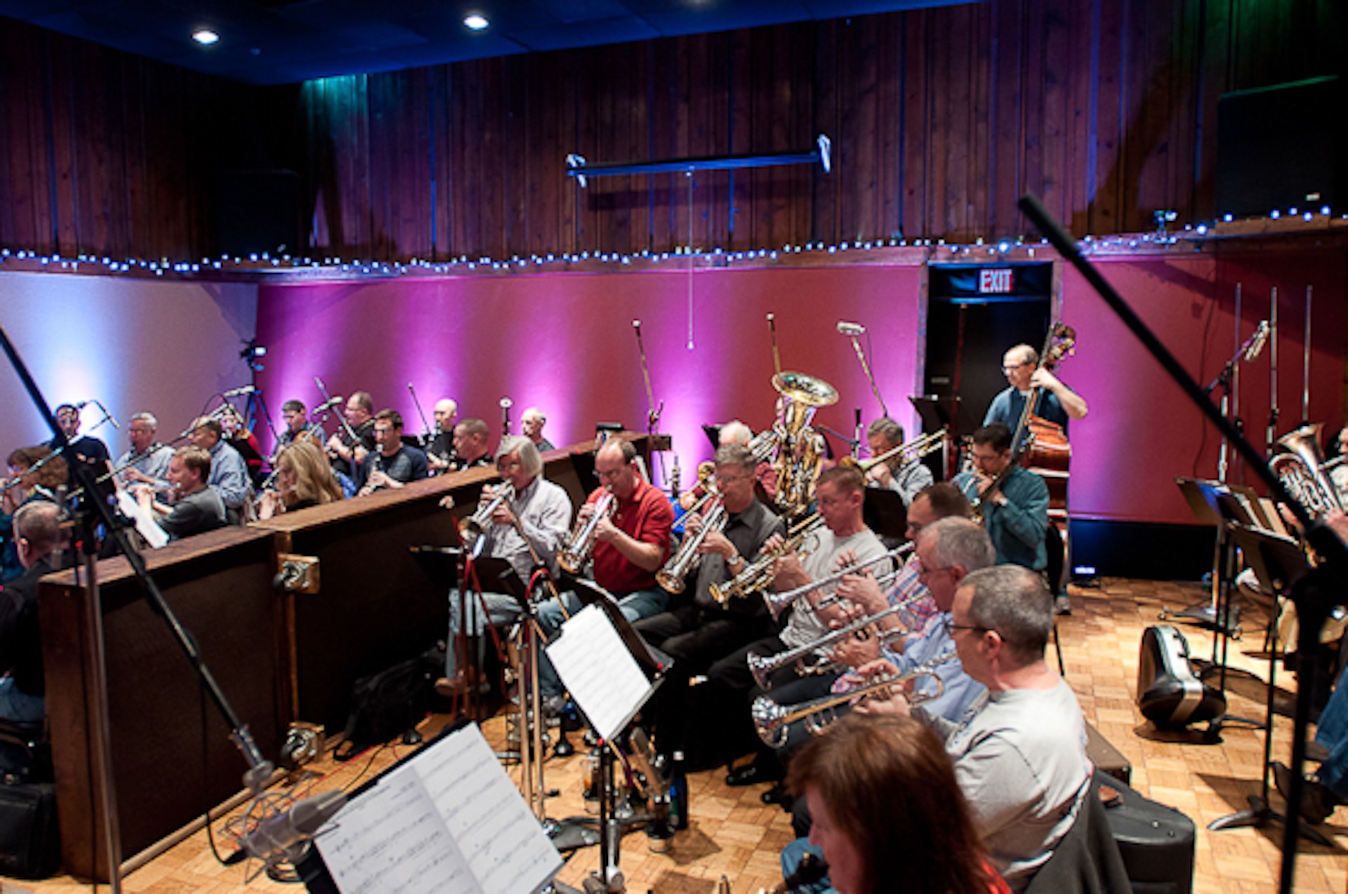 Orchestra in Studio A (About)